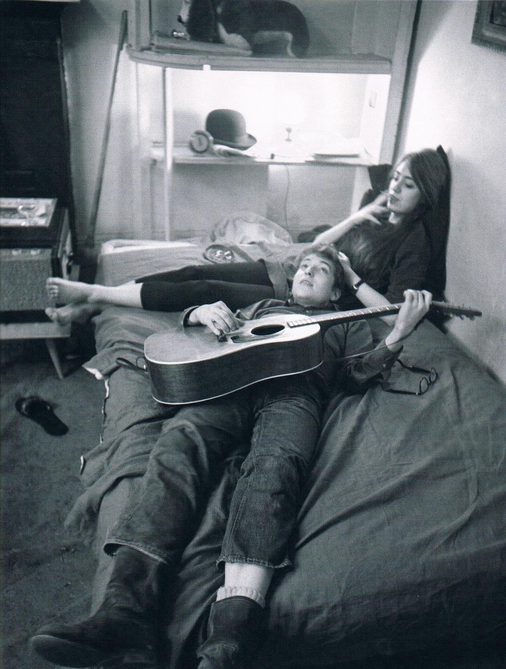 Bob Dylan andSuze Rotolo, 1962