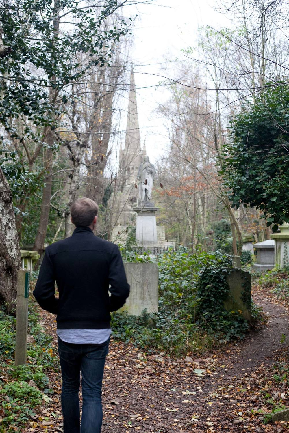 Abney Park Cemetery, founded 1840