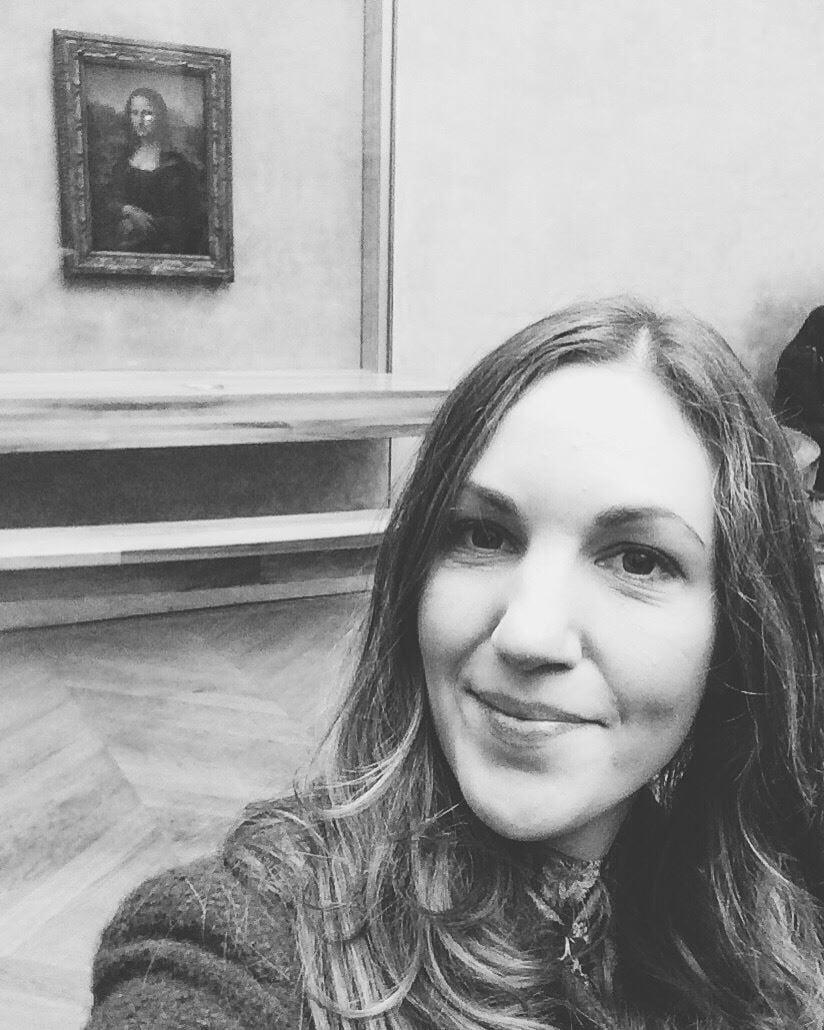 Mona and me, an art school dream come true