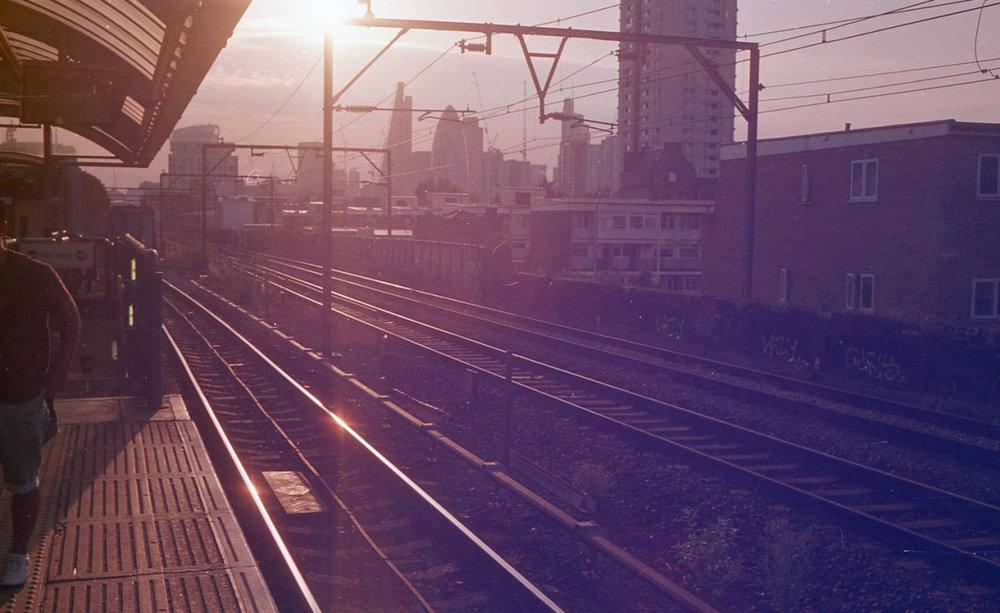 Shadwell DLR station   August 2016