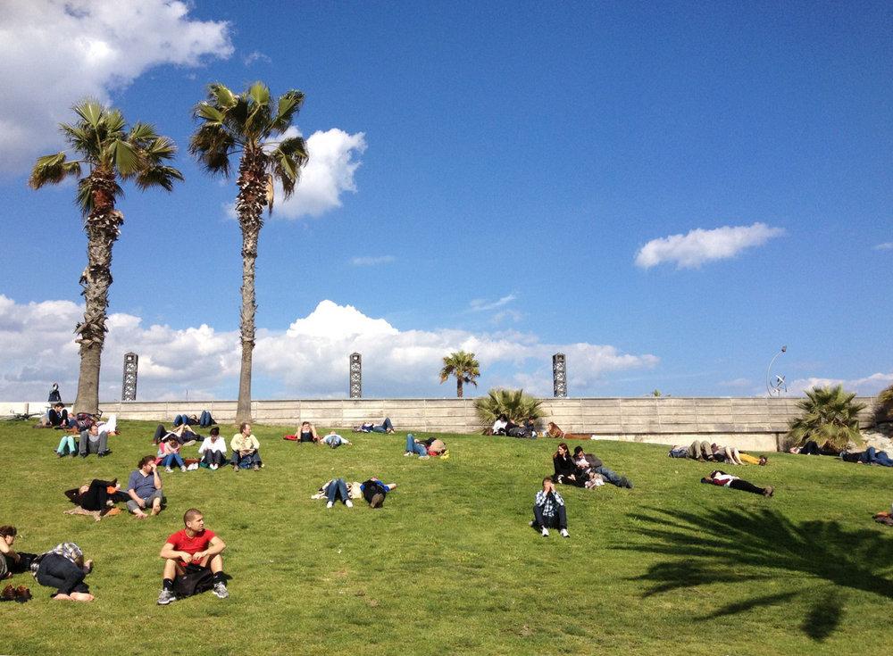 Barcelona, Spain  April, 2013