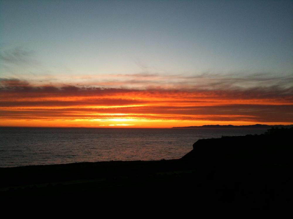 Sunset in Palos Verdes