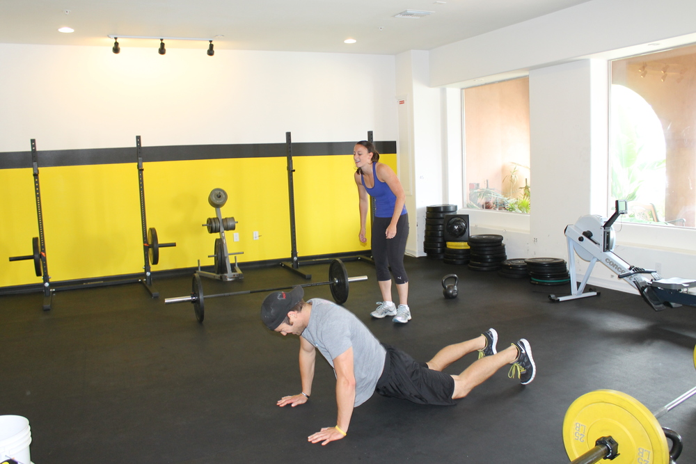 Ryan and Stacey doing a partner WOD back in 2011. A lot has changed around the gyn since then, even in this limited view