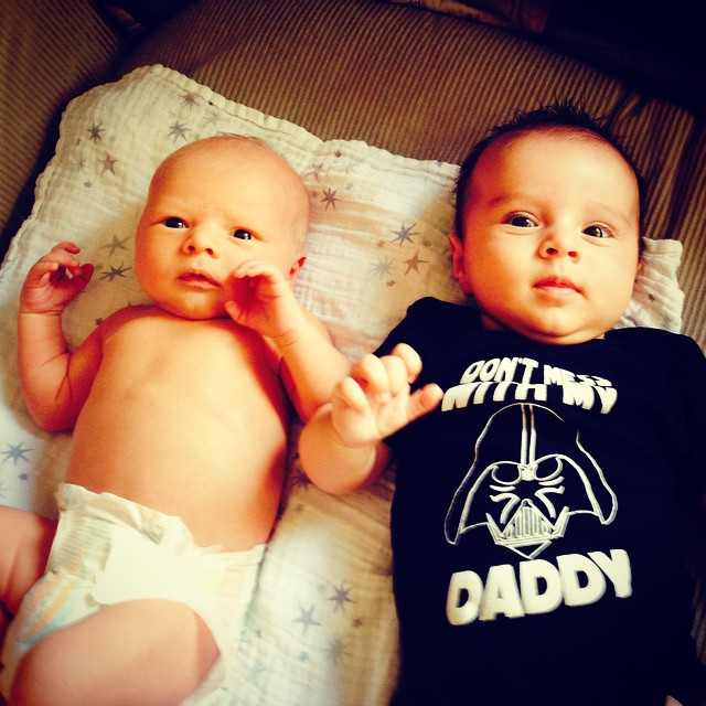 Pascal Crabtree and Oliver Bruzzese-our newest CrossFit babies! Congrats Laura and Katrina