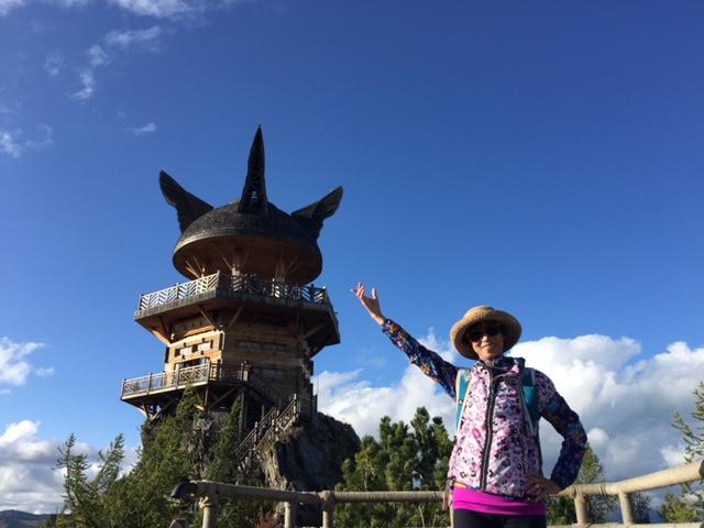 Kanas Lake, Xinjiang, China. Check out Shirley's Story below