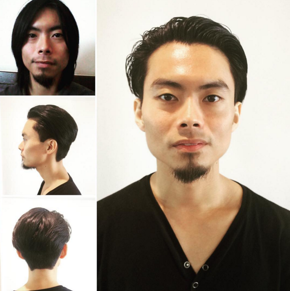 Cut & styling by Rose