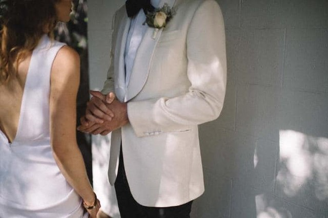 Michael in his hand sewn white tuxedo.  #perthfashion #perthisok #igperth #fotd #perthwedding #perthwedding s#fashionstyle #luxury #perthdesigner #perthluxury #perthstyle #perthlife #perthbride #mensfashion #dapper #luxurylife #thisiswa #dandy #ootd #instadaily #instalike #smallbiz #photooftheday #instacool #dapper #menswear #suitup #handmade #suit #dandy