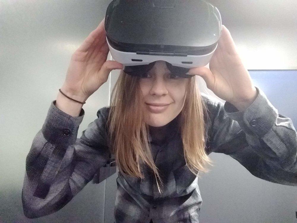 Hello, I'm Erika, a designer and developer. -
