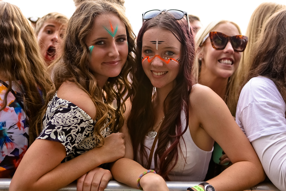 groovin' the moo crowd