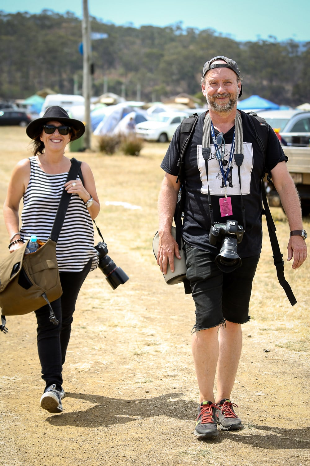 Cathy and Peter, Official Falls Festival Photographers.