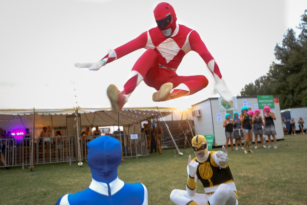 flying power ranger