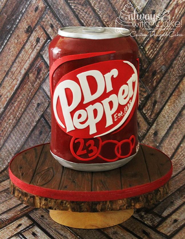 Dr. Pepper Cake Cake