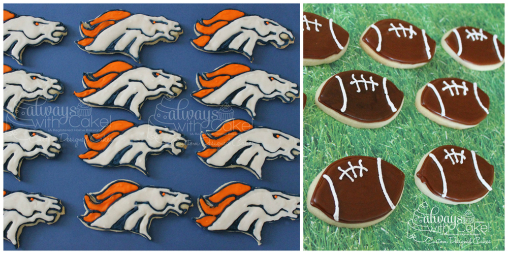 Denver Broncos Cookies