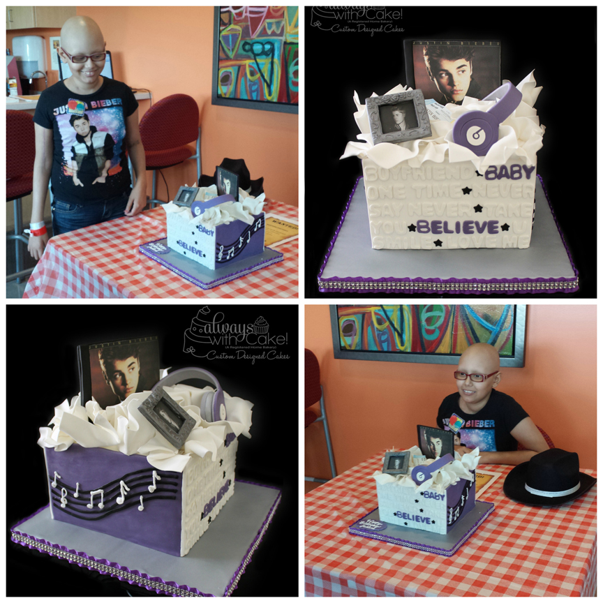 Icing Smiles - Justine Bieber Birthday Cake
