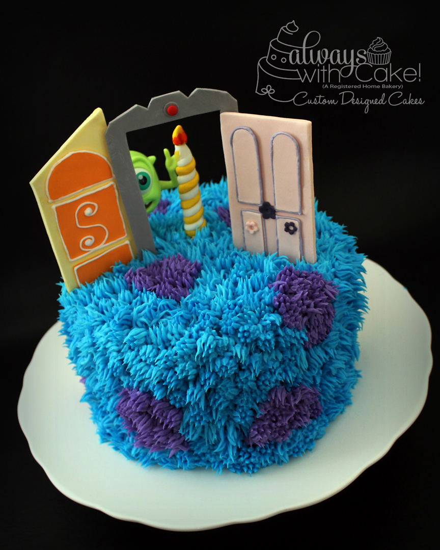 Monster's Inc Birthday Cake