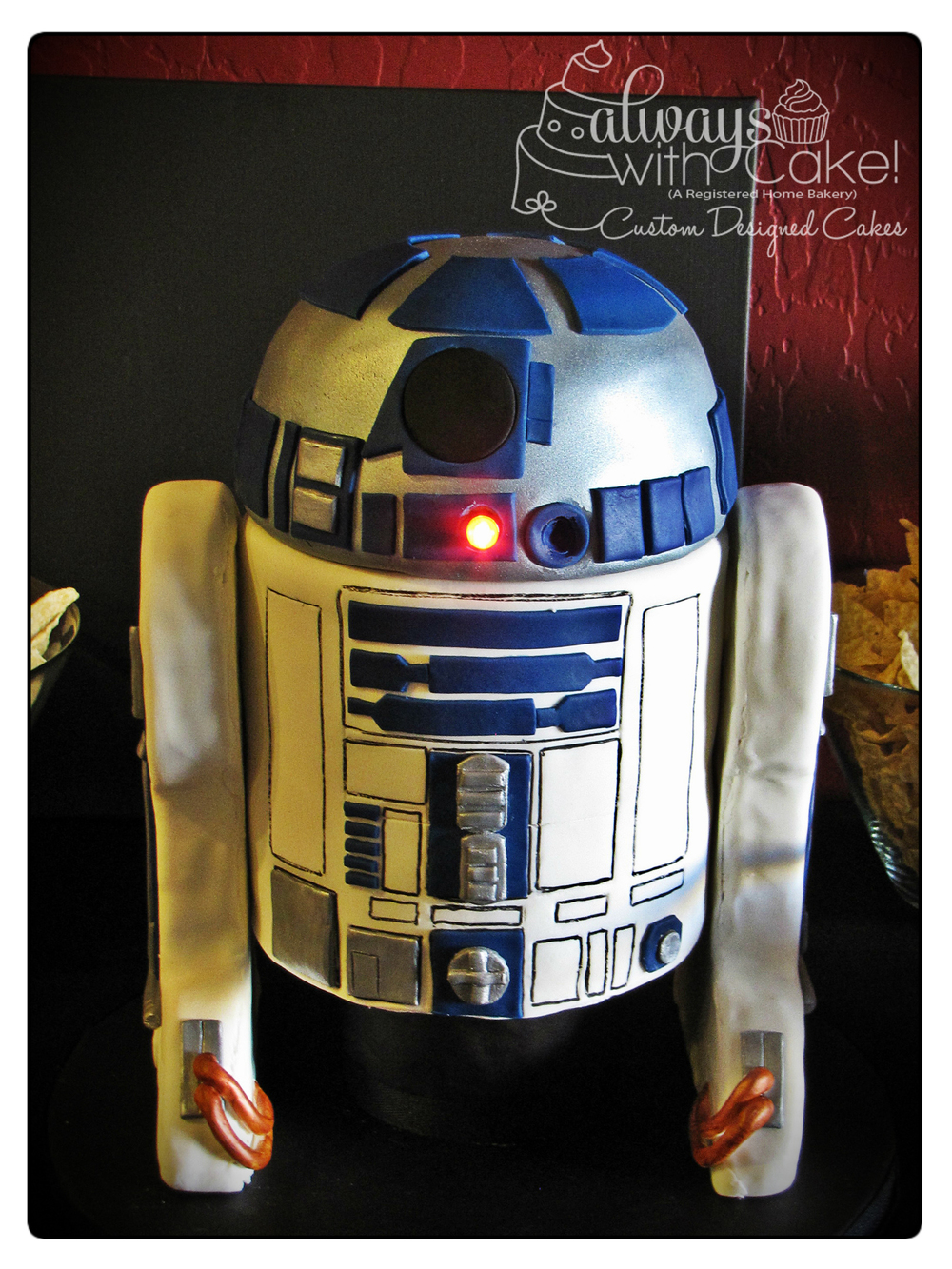 R2D2 40th Birthday Cake