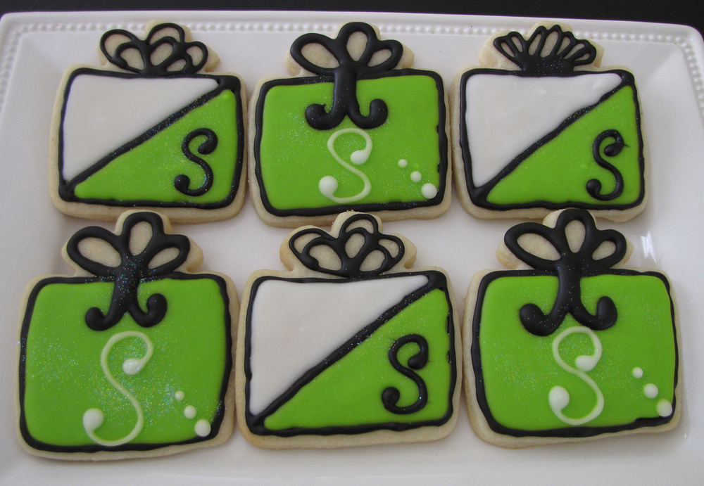Present Sugar Cookies