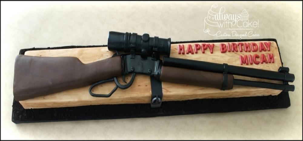 Riffle Birthday Cake