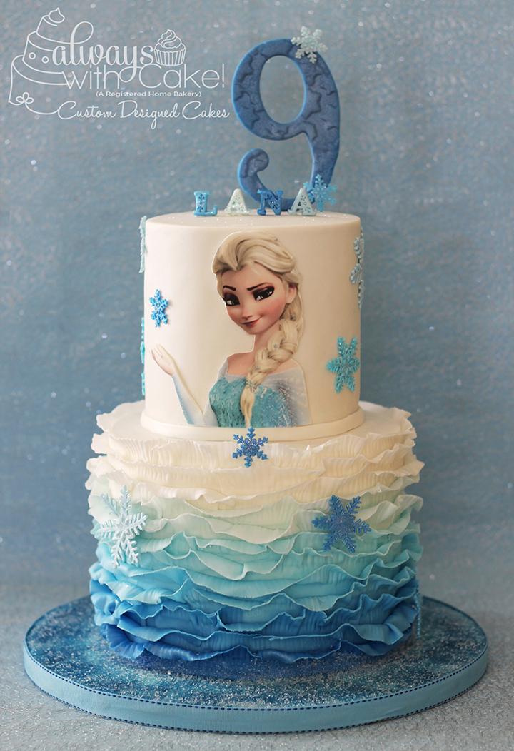 Frozen/Elsa Birthday Cake