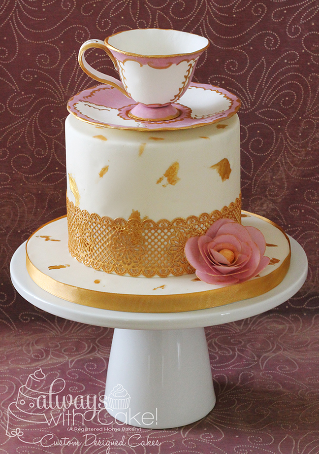 Teacup Birthday Cake