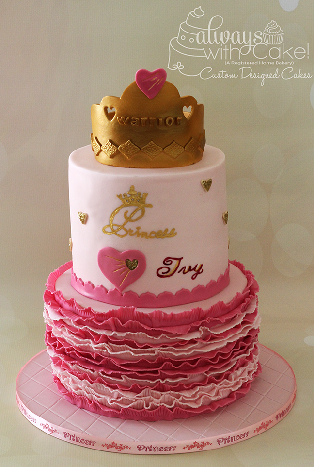 Warrior Princess Cake
