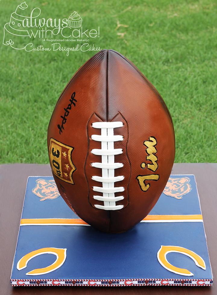 Football Cake - 3D