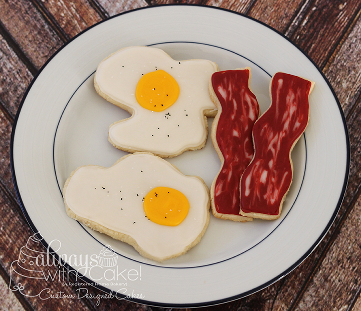 Eggs and Bacon Cookies