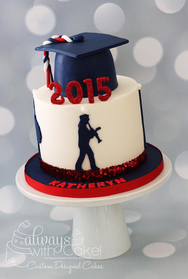 Graduation Cake for Band Member