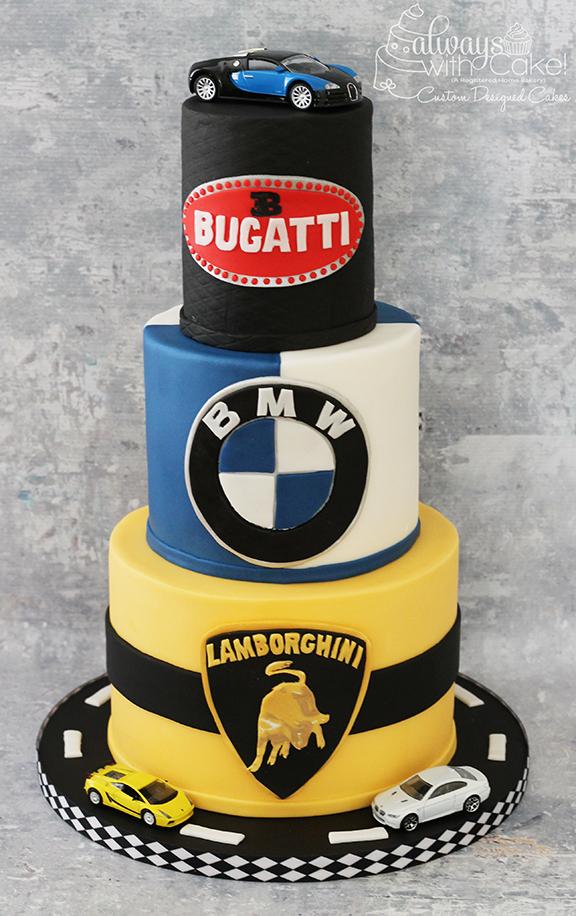 Luxery Car Birthday Cake