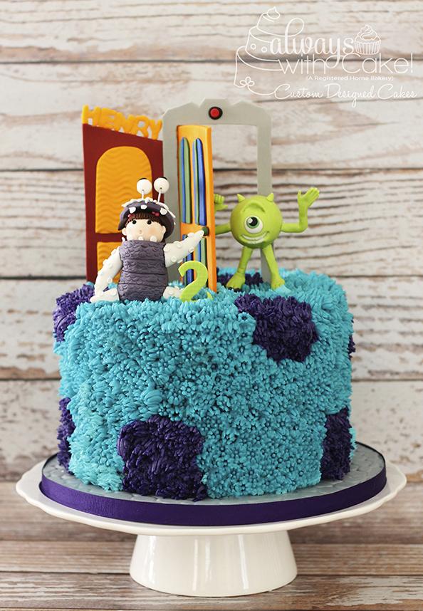 Monster's Inc Cake