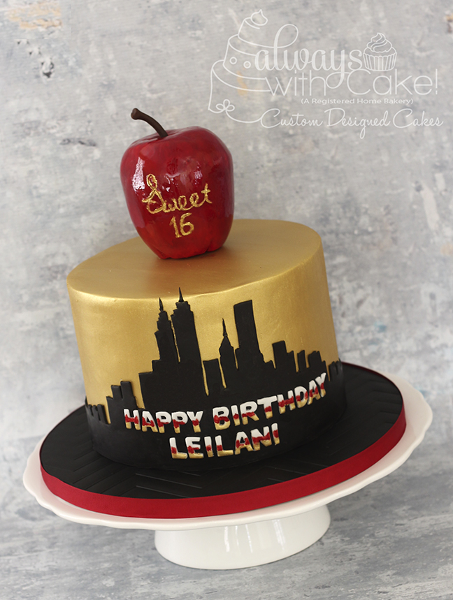 New York themed Cake