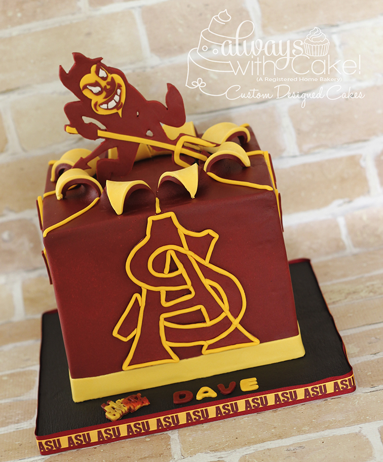 ASU Birthday Cake