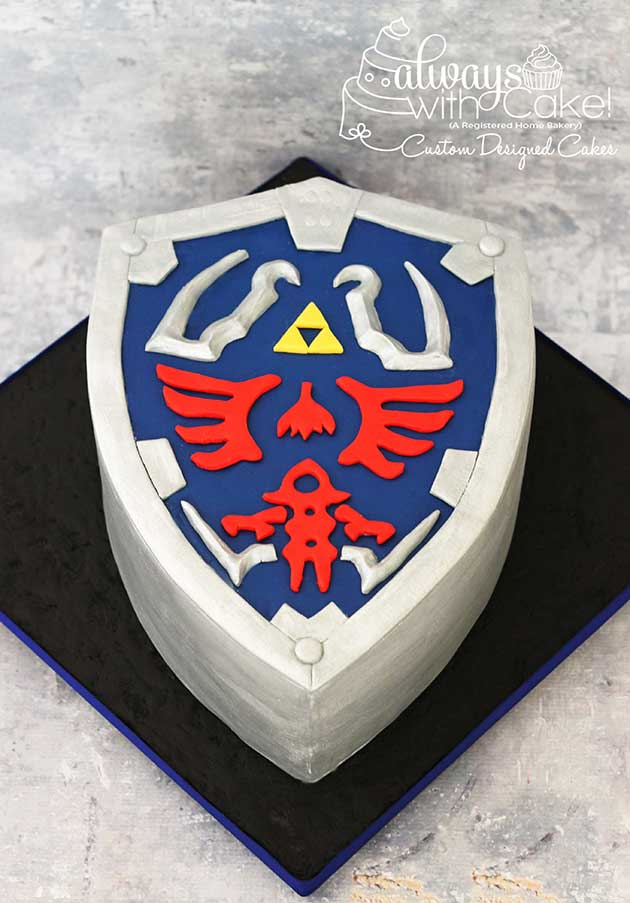 Legends of Zelda Cake