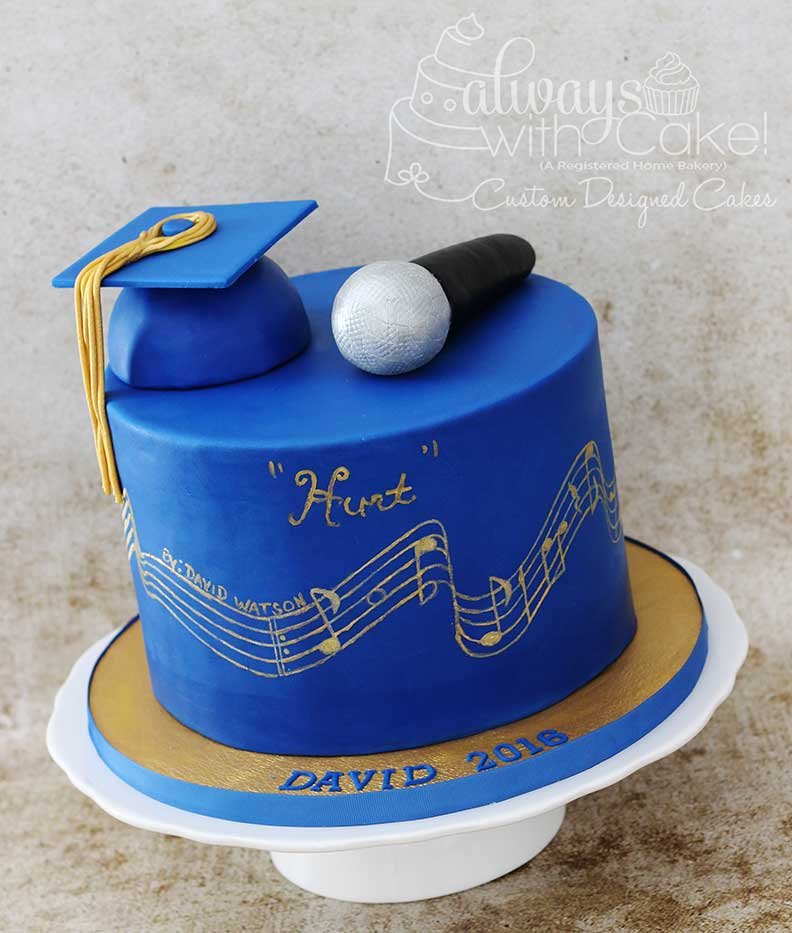 Music Gradution Cake