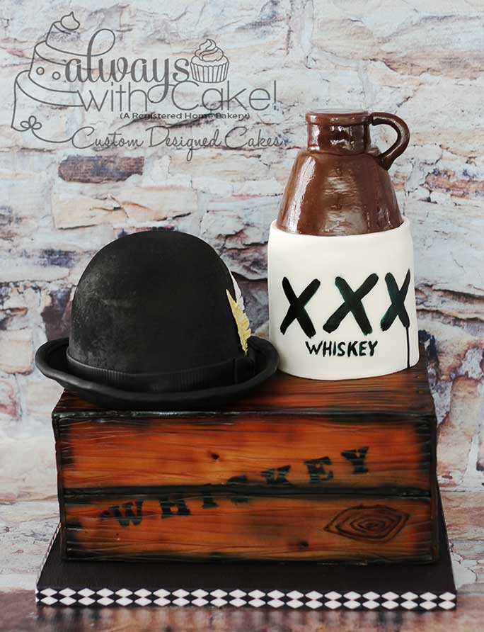 Prohibition Whiskey Cake
