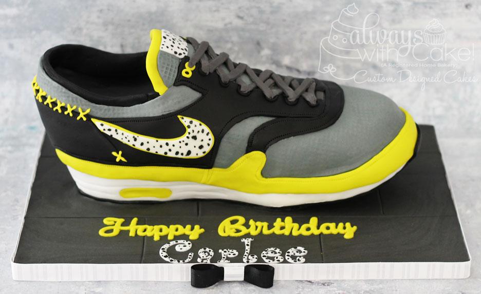 Nike Air Shoe Cake