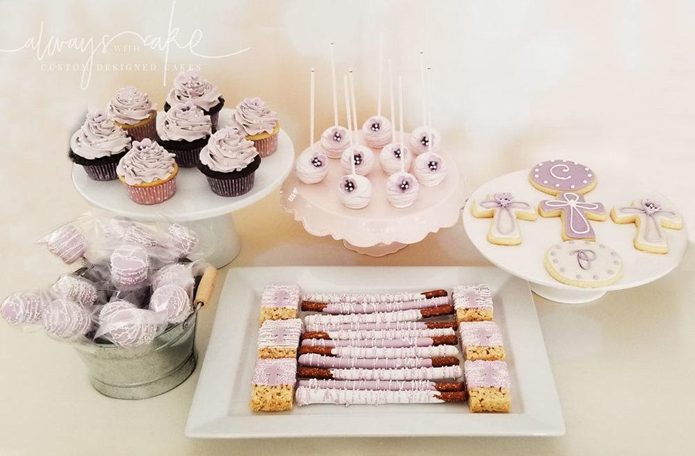 Baptism Desserts
