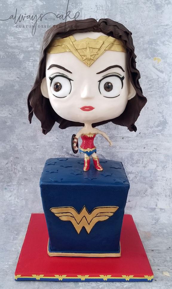 Wonder Woman Chibi Style