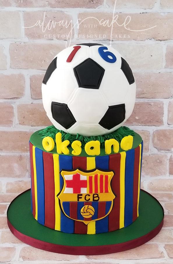 Soccer (Football) Cake