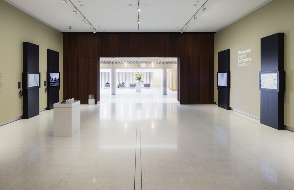 Macquarie Digital Portrait Award 2015 at The National Portrait Gallery, Canberra