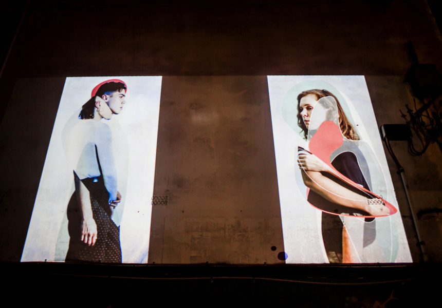 Gertrude Street Projection Festival, 2016
