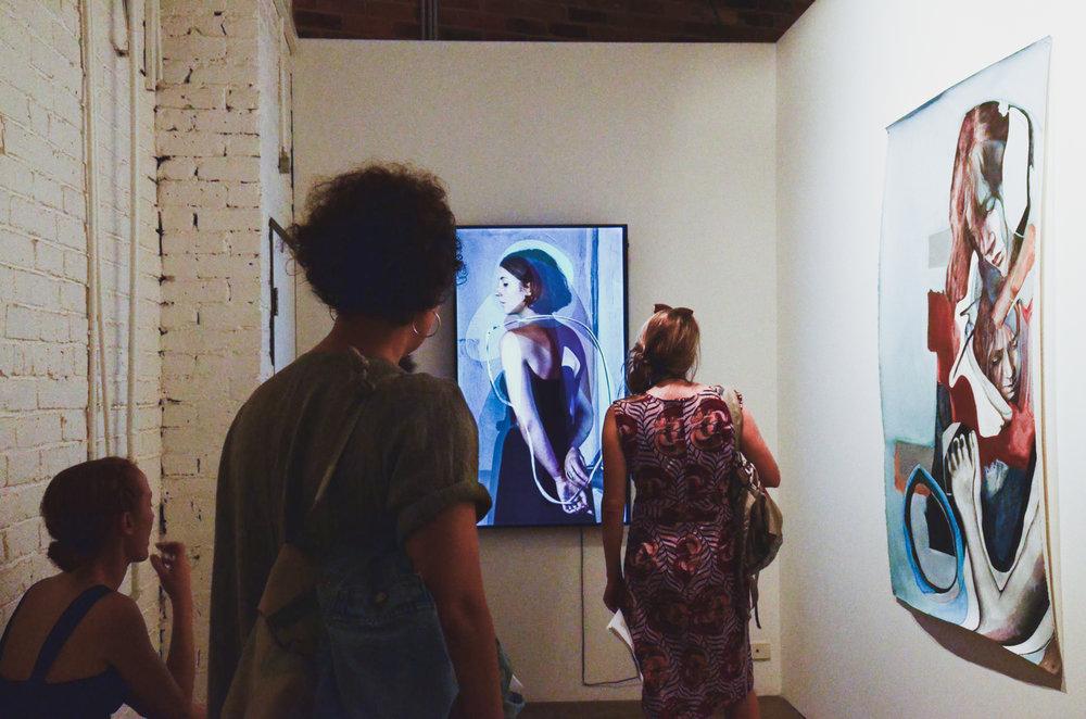 Installation at Anna Pappas Gallery