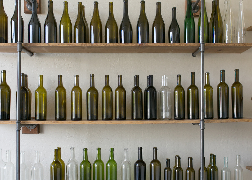Wholesale Wine Bottle Showroom