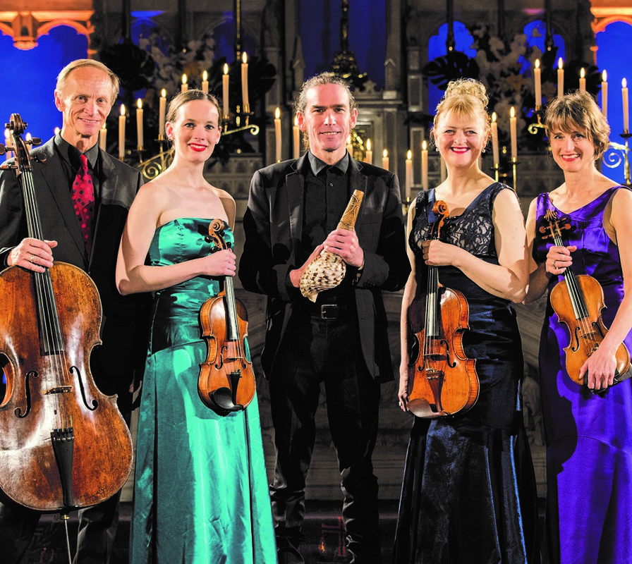 Rob Thorne and the New Zealand String Quartet