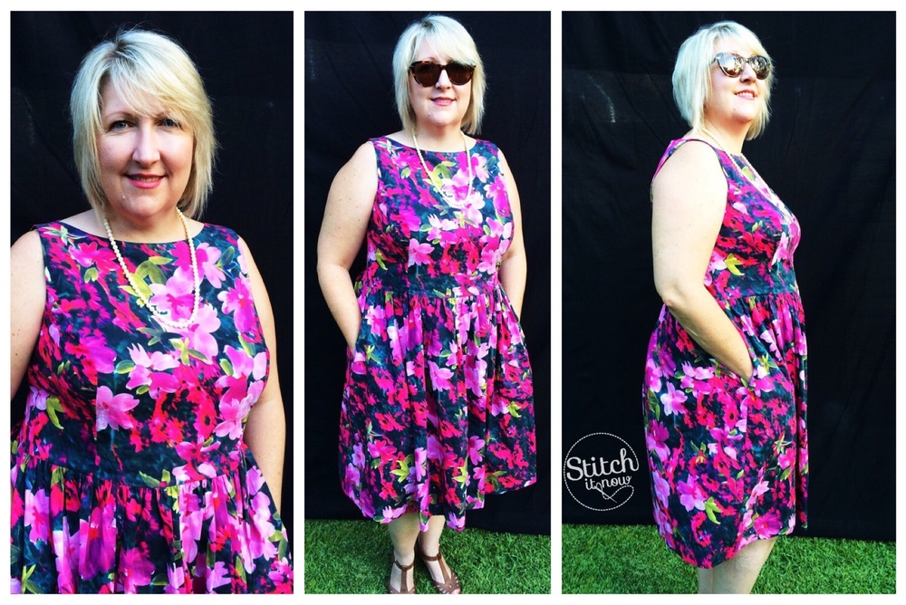 I must thank my lovely husband for the photos, however I think my face says it all in a few of the photos ... Ha ha... These are apparently 'Full shot' photos - even though my legs and feet are missing in most.  His reason 'It's hard to get all of you in'???!!! Take a step back honey! We work with what we have....sigh.