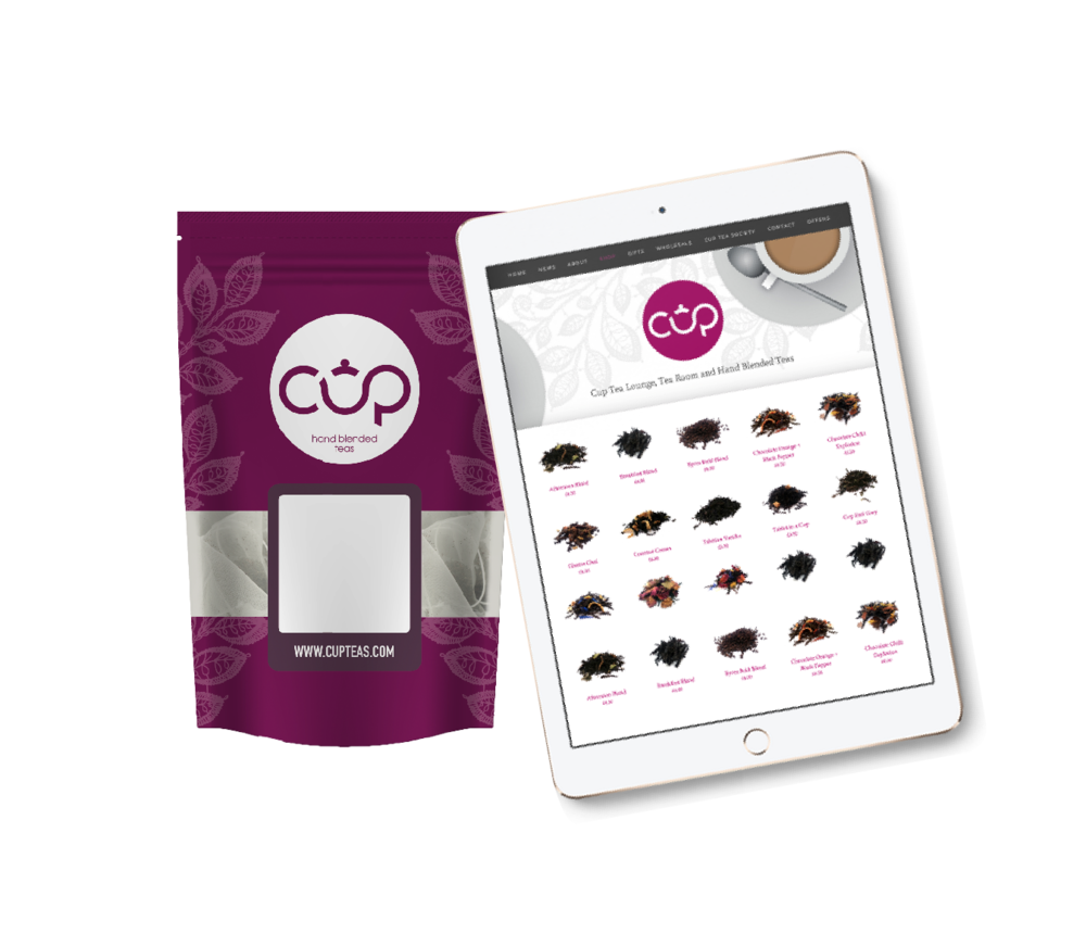 Order teas online, delivered right to your door!