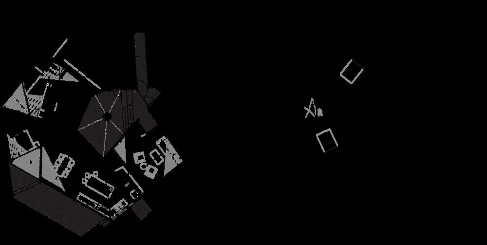 Main level lighting plan and lower level plan