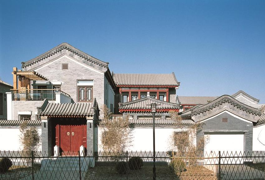 Cathay View Villas; source: Beijing Institute of Architectural Design, 2014