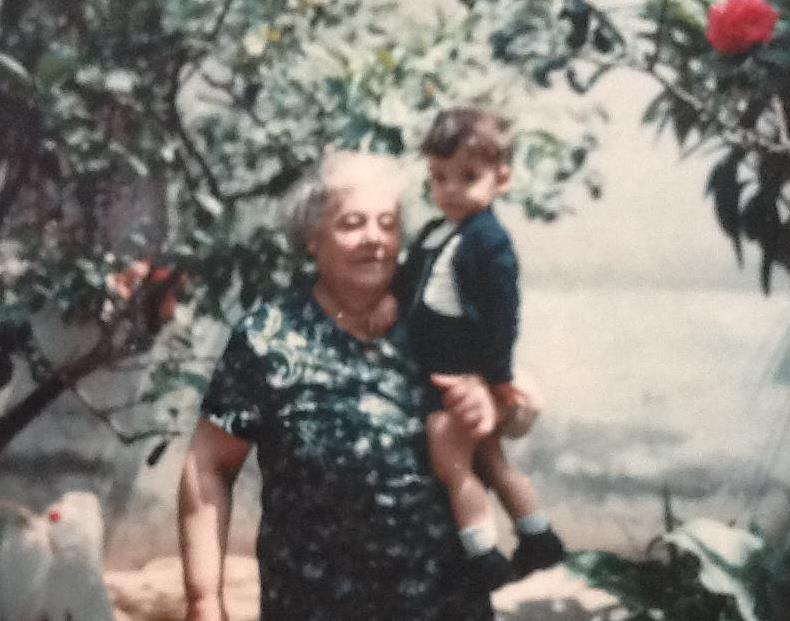The kindest human being that ever lived and my greatest inspiration - my Italian grandmother, Nina Langasco