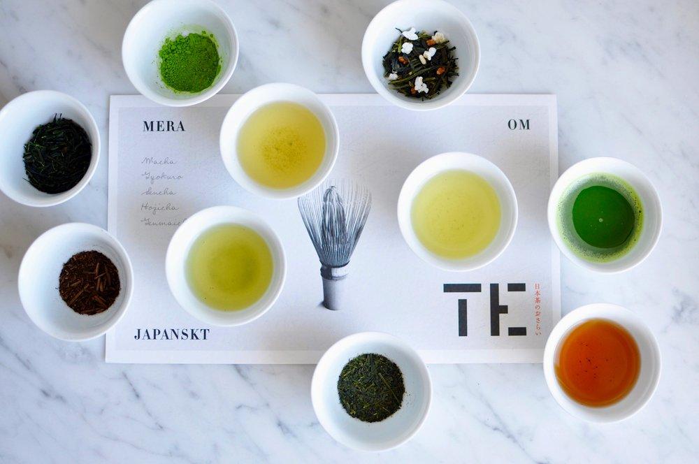 TE - PROVNING - För restaurang, café och butik